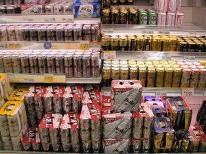 Olasz termékek az élelmiszer nagykereskedésben